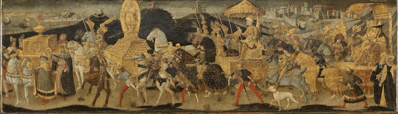 Battle of Issus - Darius Marching to the Battle of Issus (1450-55)