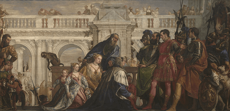 Darius III - Family of Darius Before Alexander (1528-88)