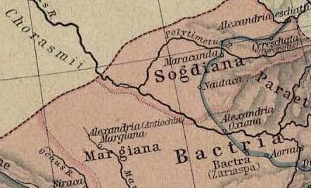 Alexander the Great - Cyropolis: Historical Atlas (1923)